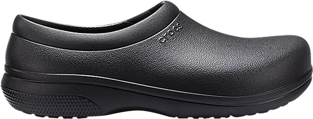 Crocs On-The-Clock Work Slip-On, Black, large, image 2
