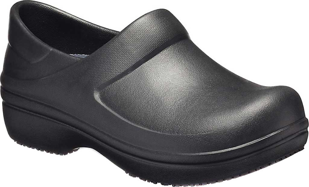 Women's Crocs Neria Pro II Closed Back Clog, Black, large, image 1