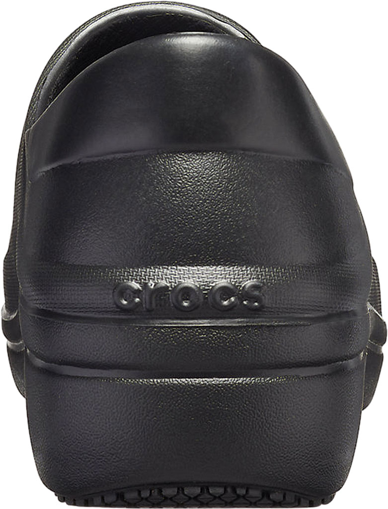 Women's Crocs Neria Pro II Closed Back Clog, Black, large, image 3