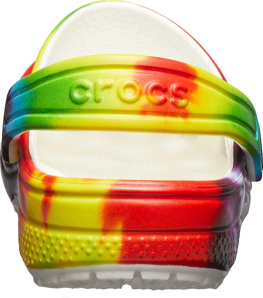Infant Crocs Classic Tie Dye Graphic Clog Kids, Multi, large, image 3