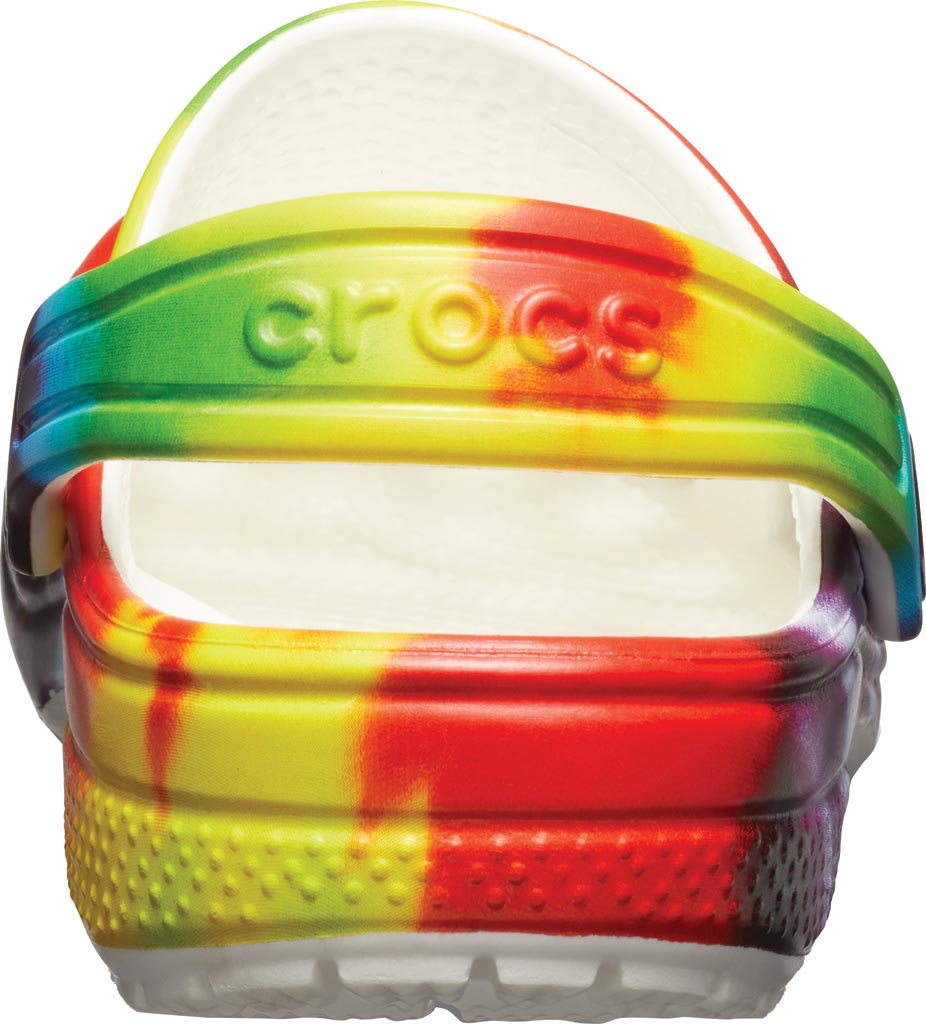 Children's Crocs Classic Tie Dye Graphic Clog Junior, Multi, large, image 3