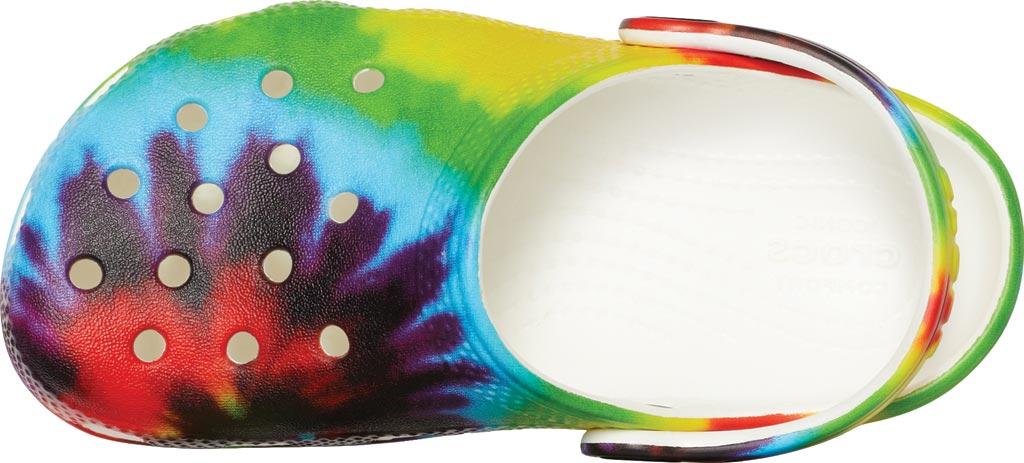 Children's Crocs Classic Tie Dye Graphic Clog Junior, Multi, large, image 4