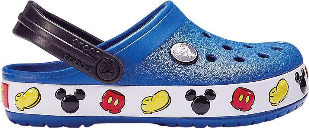 Children's Crocs Crocband Mickey Clog Junior, Blue Jean, large, image 2