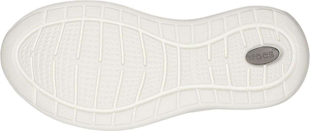 Infant Crocs LiteRide Pacer Sneaker Kids, Black/White, large, image 5