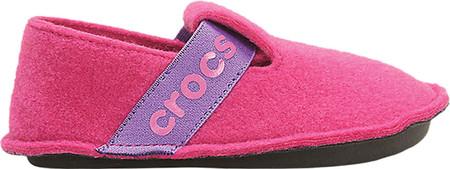 Children's Crocs Classic Slipper Junior, Candy Pink, large, image 2