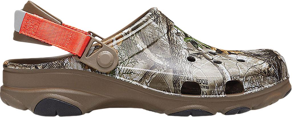 Men's Crocs Classic All Terrain Realtree Edge Clog, Walnut, large, image 2