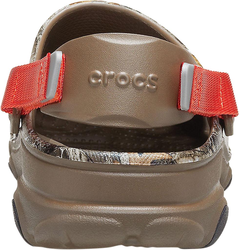 Men's Crocs Classic All Terrain Realtree Edge Clog, Walnut, large, image 3