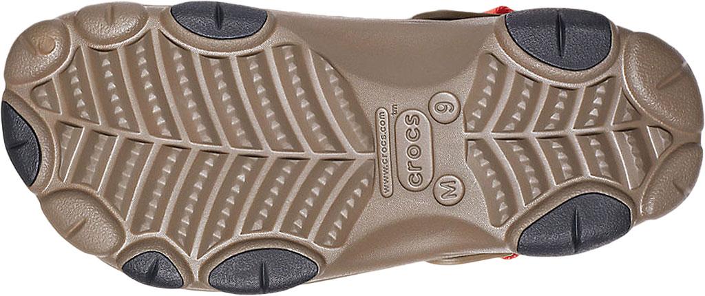 Men's Crocs Classic All Terrain Realtree Edge Clog, Walnut, large, image 5