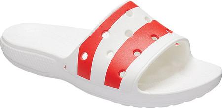 Crocs Classic American Flag Slide, White/Multi, large, image 1