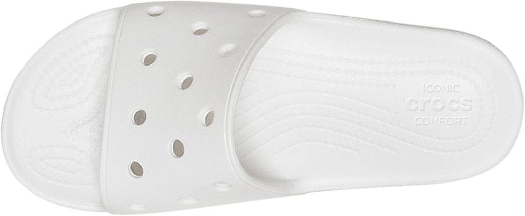 Crocs Classic Slide, White, large, image 4