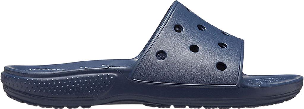 Crocs Classic Slide, Navy, large, image 2