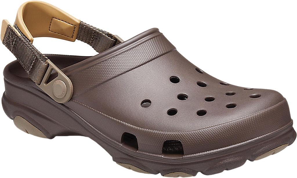 Men's Crocs Classic All Terrain Clog, Espresso, large, image 1