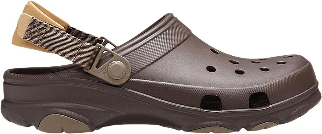 Men's Crocs Classic All Terrain Clog, Espresso, large, image 2
