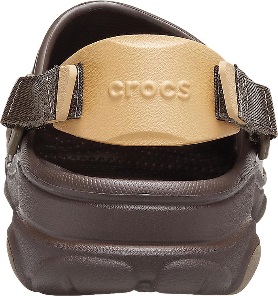 Men's Crocs Classic All Terrain Clog, Espresso, large, image 3