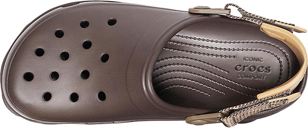 Men's Crocs Classic All Terrain Clog, Espresso, large, image 4