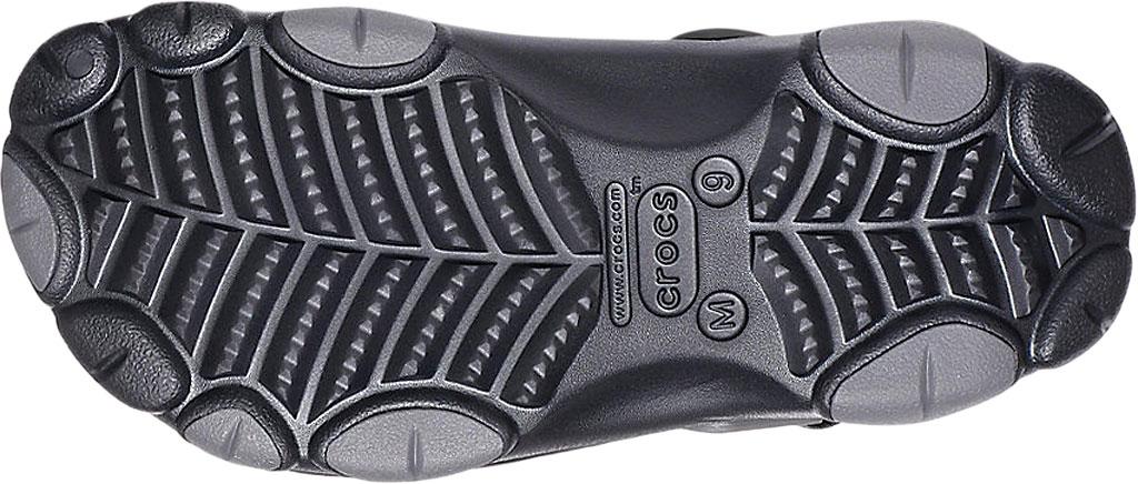 Men's Crocs Classic All Terrain Clog, Black, large, image 4