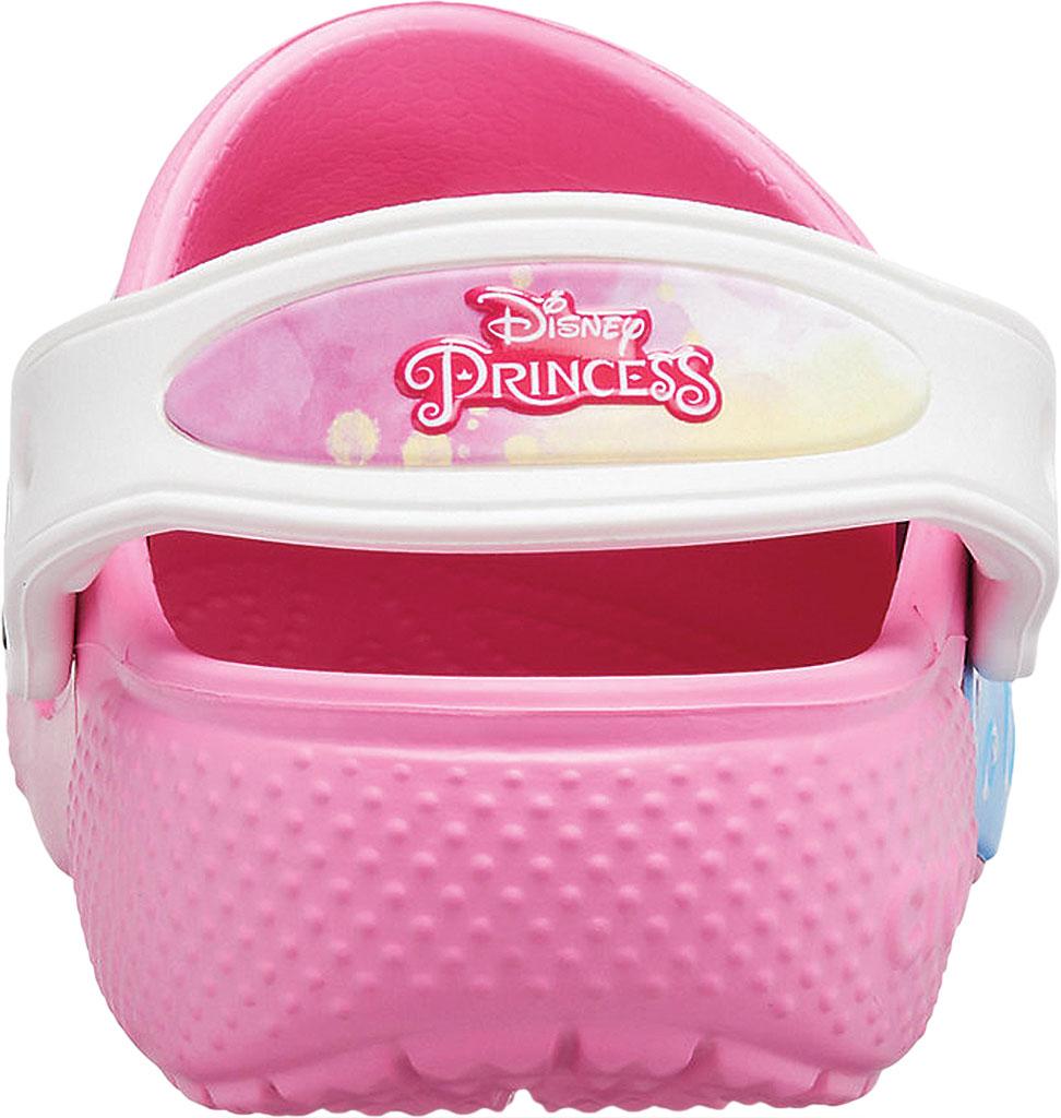 Girls' Crocs Fun Lab Disney Princess Patch Clog Juniors, Pink Lemonade, large, image 3