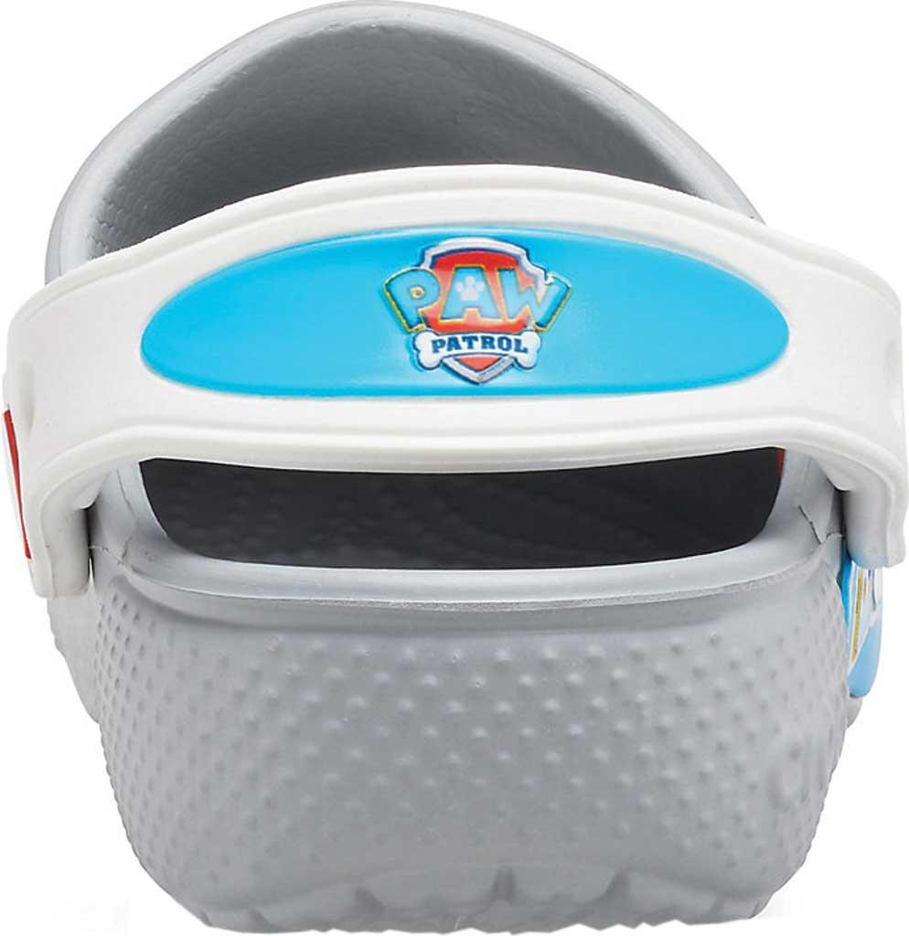 Infant Crocs Fun Lab Paw Patrol Clog Kids, Light Grey, large, image 3