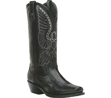 "Men's Laredo Classic Leather 13"" Square Toe, Black, large, image 1"