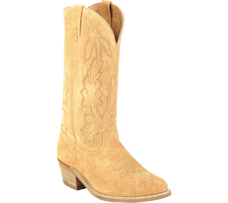 Men's Laredo Classic Suede 13 Cowboy Boot 68216, Natural Suede, large, image 1