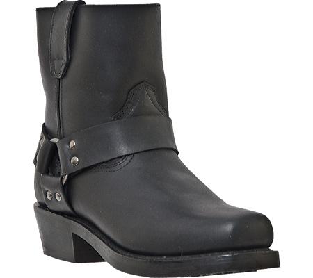 Men's Dingo Rev Up DI19090, Black Full Grain Leather, large, image 1
