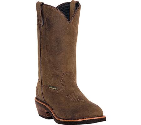 Men's Dan Post Boots Albuquerque DP69681, Tan Distressed Waterproof Leather, large, image 1