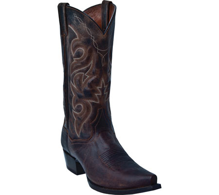 Men's Dan Post Boots Renegade S DP2159S, Bay Apache Distressed Leather, large, image 1