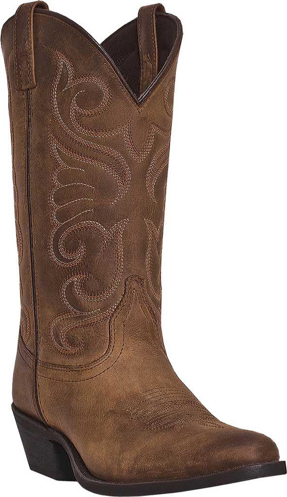 Women's Laredo Bridget 51084, Tan Distressed Leather, large, image 1