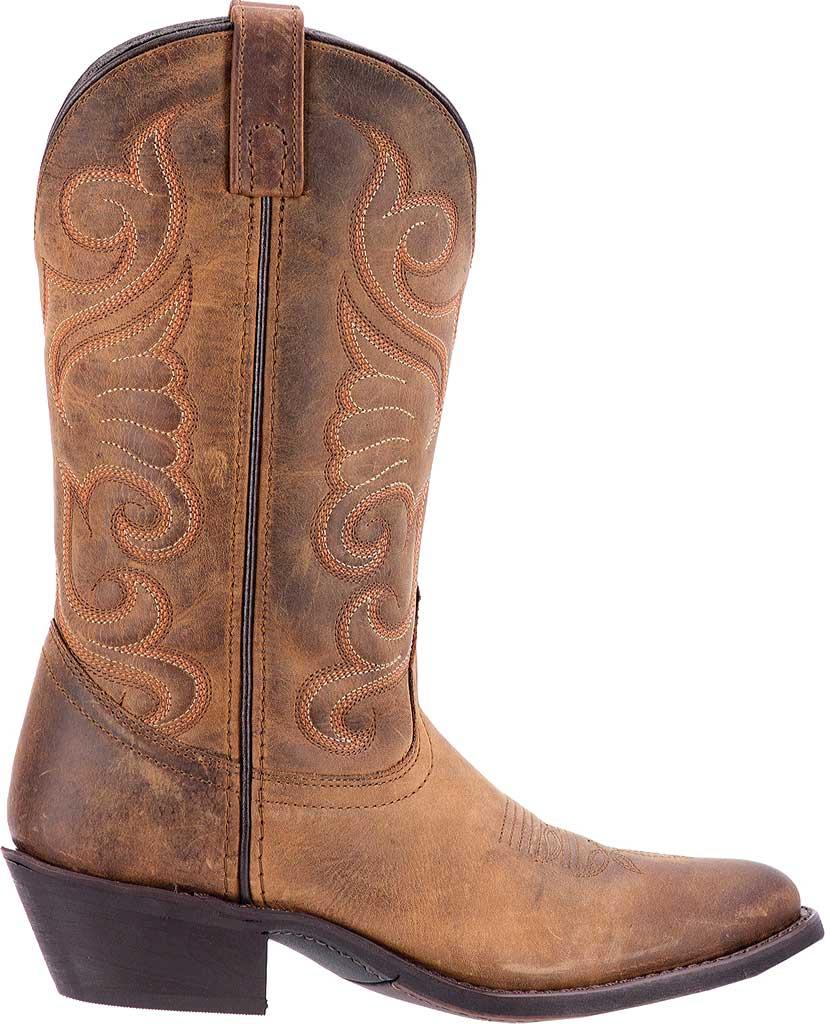 Women's Laredo Bridget 51084, Tan Distressed Leather, large, image 2