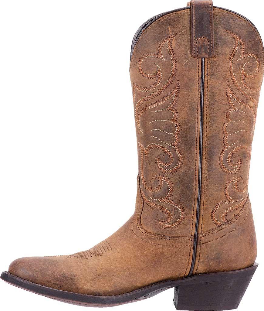 Women's Laredo Bridget 51084, Tan Distressed Leather, large, image 3