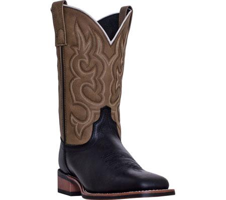 Men's Laredo Lodi 7877, Black Leather/Sandy Leather-Like, large, image 1