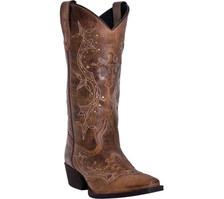 Women's Laredo Cross Point 52033, Burnt Rust Leather, large, image 1