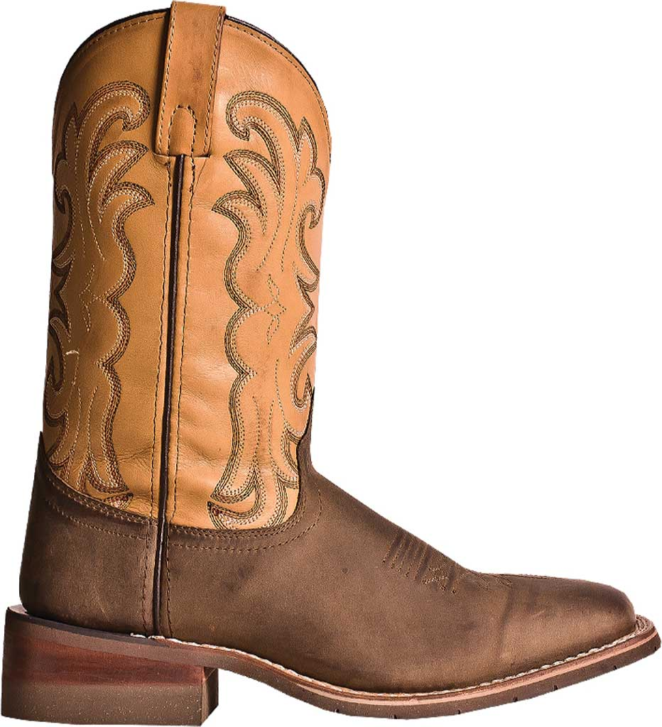 Men's Dan Post Boots Ferrier DP69831, Tan Distressed Leather/Spice, large, image 2