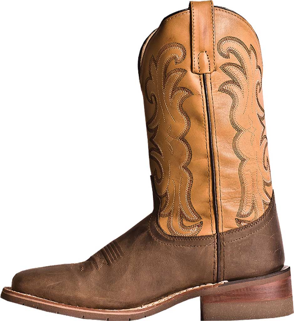 Men's Dan Post Boots Ferrier DP69831, Tan Distressed Leather/Spice, large, image 3