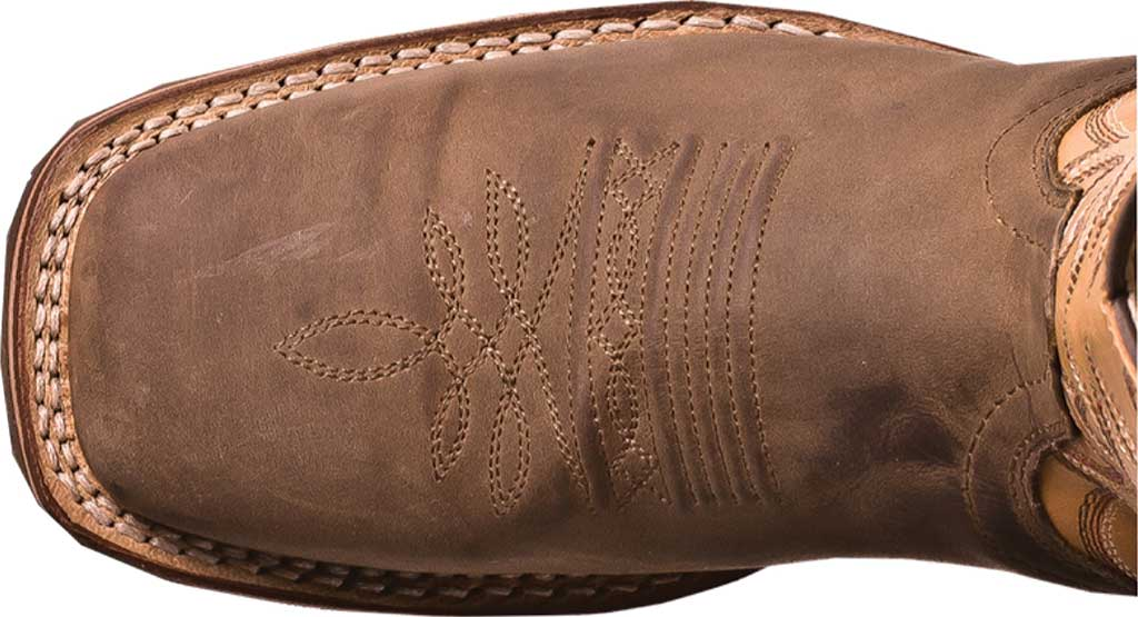 Men's Dan Post Boots Ferrier DP69831, Tan Distressed Leather/Spice, large, image 6