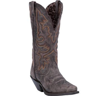 Women's Laredo Access 51079, Black/Tan Goat Leather, large, image 1