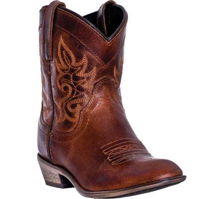 Women's Dingo Willie DI 865, Brown Leather, large, image 1