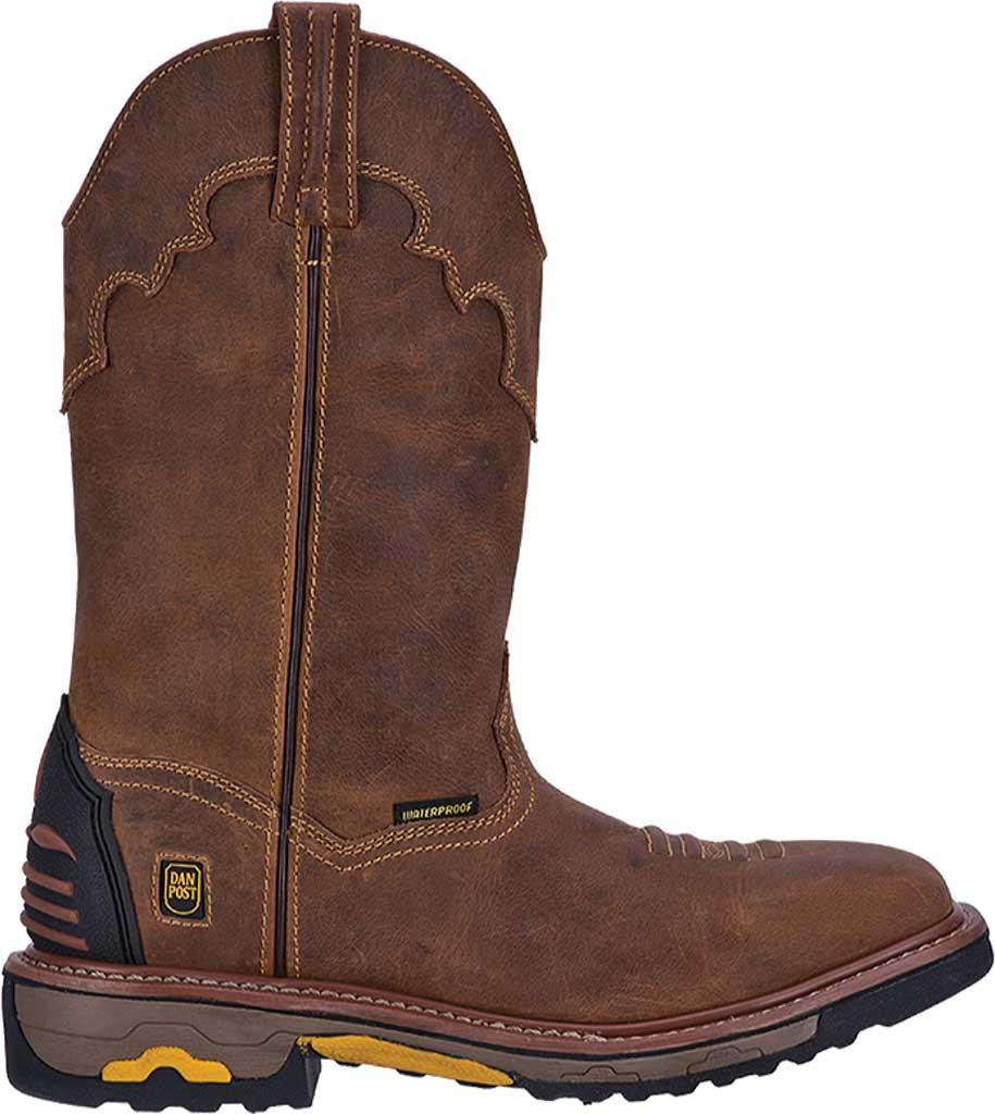 Men's Dan Post Boots Blayde DP69402, Saddle Tan Leather, large, image 2