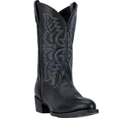 Men's Laredo Birchwood Cowboy Boot 68450, Black Leather, large, image 1