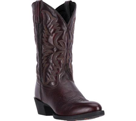 Men's Laredo Birchwood Cowboy Boot 68458, Black Cherry Leather, large, image 1