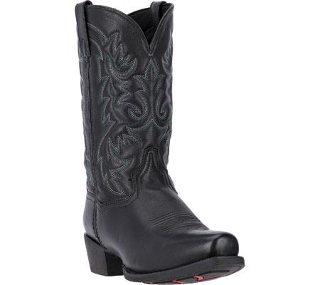Men's Laredo Bryce Cowboy Boot 68440, Black Leather, large, image 1