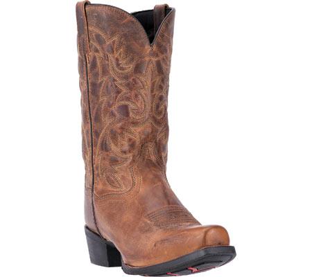 Men's Laredo Bryce Cowboy Boot 68442, Tan Distressed Leather, large, image 1