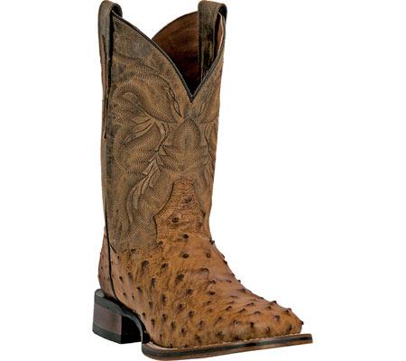 Men's Dan Post Boots Alamosa Cowboy Boot DP3876, Saddle Tan Leather, large, image 1