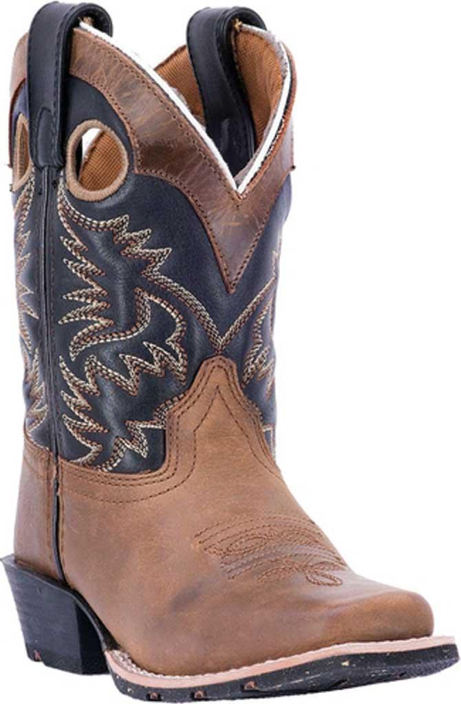 Children's Dan Post Boots Rascal Cowboy Boot, Aged Bark, large, image 1