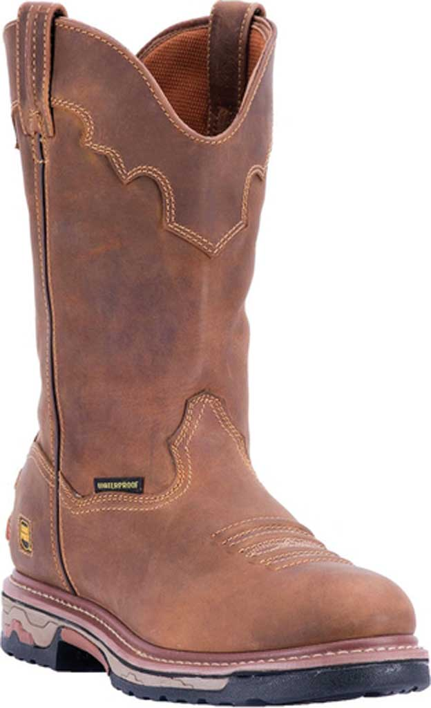 Men's Dan Post Boots Journeyman Cowboy Boot DP69502, Saddle Leather, large, image 1