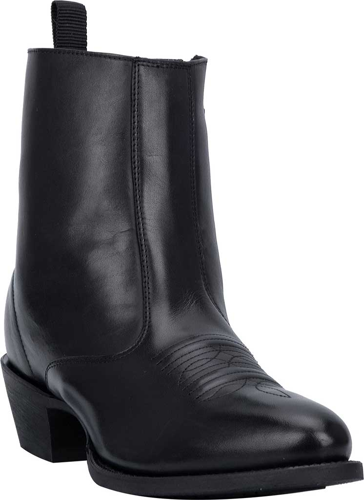 Men's Laredo Fletcher Boot 62070, Black Leather, large, image 1