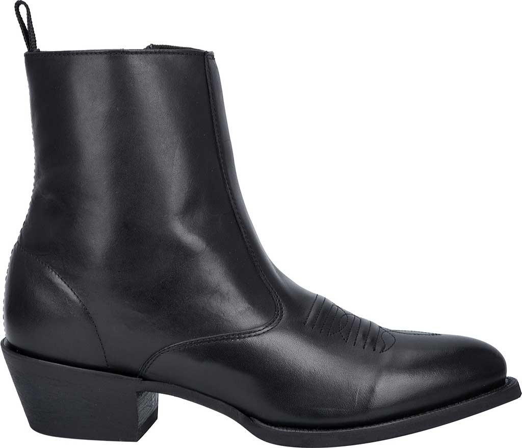 Men's Laredo Fletcher Boot 62070, Black Leather, large, image 2