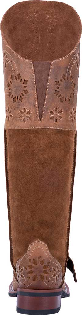 Women's Laredo Caught You Lookin' Riding Boot 5684, Tan Leather/Suede, large, image 4