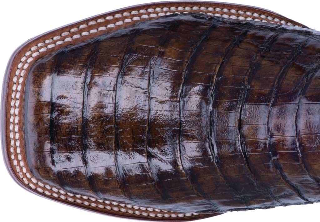 Men's Dan Post Boots Kingsly Cowboy Boot DP4860, Everglades/Brown Genuine Caiman Skin, large, image 4
