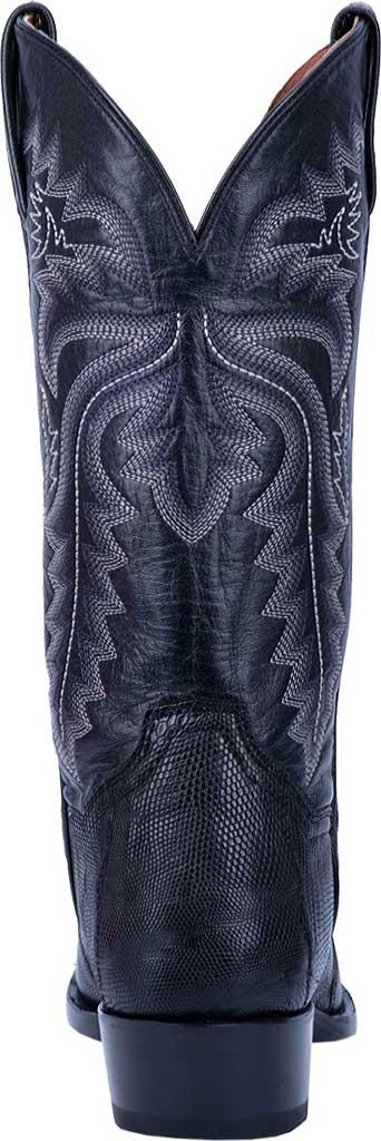 Men's Dan Post Boots Winston Exotic Cowboy Boot DP3050R, Black Exotic Lizard, large, image 4